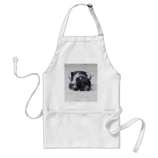 dog in the street standard apron