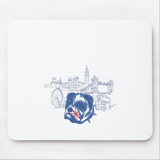 dog in the united kingdom mouse pad