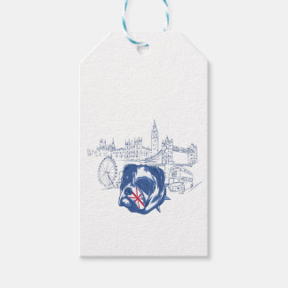 dog in the united kingdom pack of gift tags