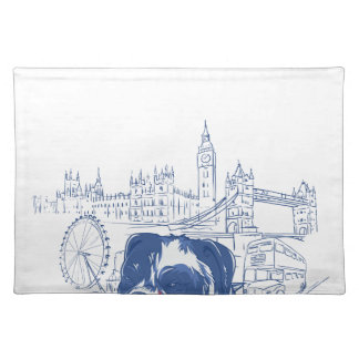 dog in the united kingdom placemat