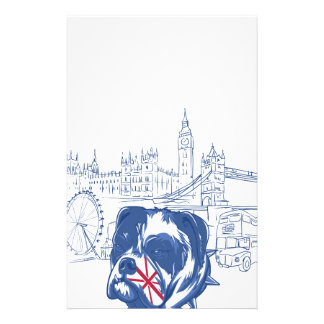 dog in the united kingdom stationery paper