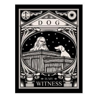 Dog Is My Witness Postcard