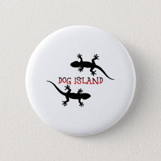 Dog Island Florida. 2 Inch Round Button