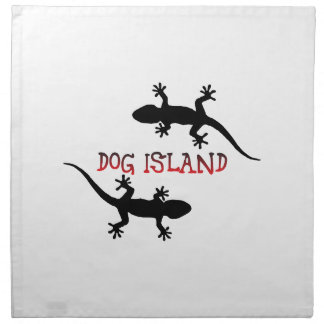 Dog Island Florida. Cloth Napkins
