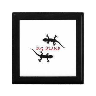 Dog Island Florida. Gift Box