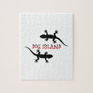 Dog Island Florida. Jigsaw Puzzle