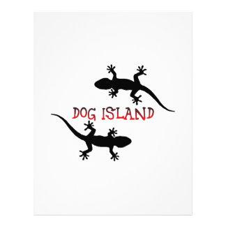 Dog Island Florida. Letterhead
