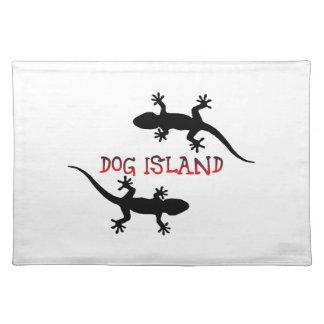 Dog Island Florida. Placemat