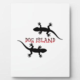 Dog Island Florida. Plaque