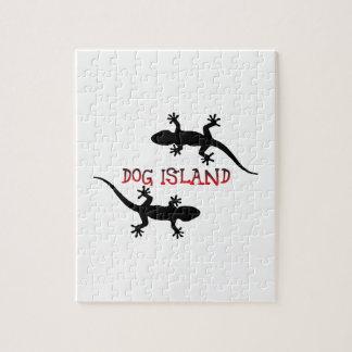 Dog Island Florida. Puzzle