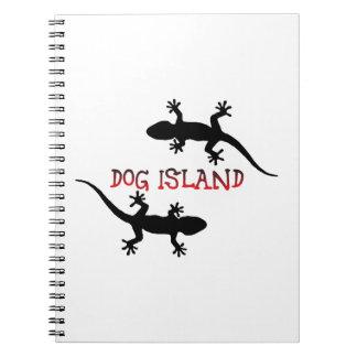 Dog Island Florida. Spiral Notebook
