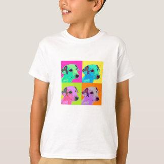 Dog, Jack Russell Terrier. Popart, Warhol - animal T-Shirt