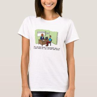 Dog Job Interview Women's T-Shirt