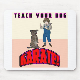 Dog Karate 3 Mouse Pad
