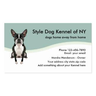 Dog Kennel Business Card