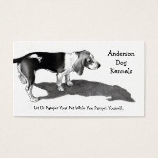 DOG KENNEL: FINE ART: BUSINESS CARDS