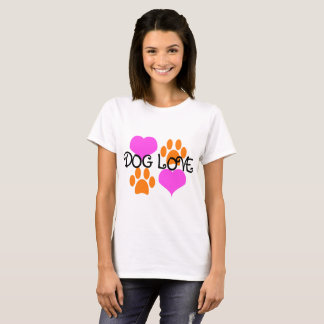 Dog Love Hearts and Paws shirt