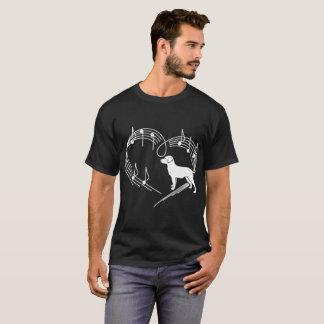 Dog Love Rhythm Heartbeats Tshirt