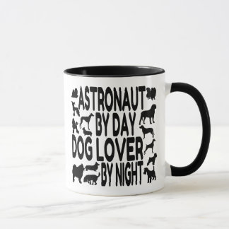 Dog Lover Astronaut Mug