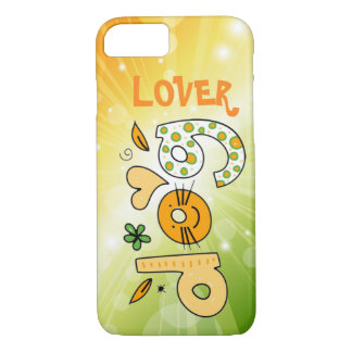 Dog Lover Cartoon Cuteness iPhone 7 Case