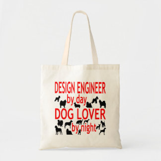 Dog Lover Design Engineer Tote Bag