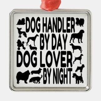 Dog Lover Dog Handler Metal Ornament