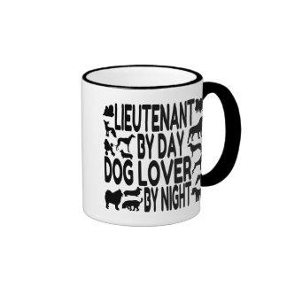 Dog Lover Lieutenant Ringer Mug