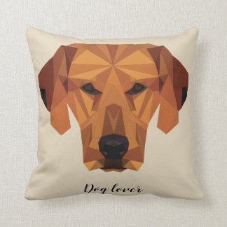 Dog lover - Low Poly - Cushion