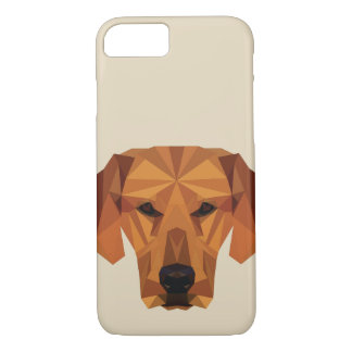 Dog lover - Low Poly - Phone Case
