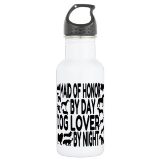 Dog Lover Maid of Honor 532 Ml Water Bottle