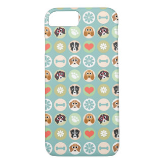 Dog Lover Pattern iPhone 8/7 Case