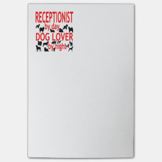 Dog Lover Receptionist Post-it Notes