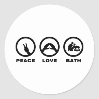 Dog Lover Round Sticker