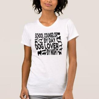 Dog Lover School Counselor T-Shirt