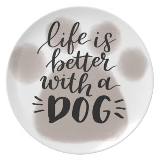 DOG LOVER, shirts, accessories, gifts Plate