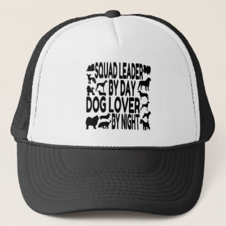 Dog Lover Squad Leader Trucker Hat