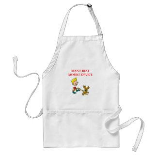 dog lover standard apron