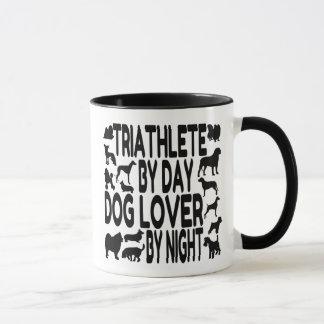 Dog Lover Triathlete Mug
