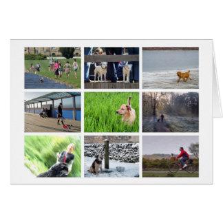 Dog-lover's card