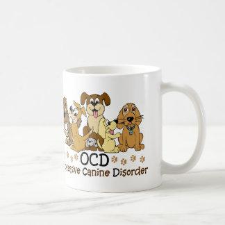 Dog Lovers Obsessive Canine Disorder Classic White Coffee Mug