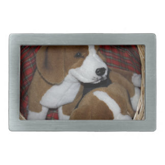 Dog Lovers - Soft Toy Rectangular Belt Buckles