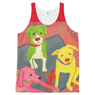 Dog Lovers' Tank Top for Willow Glen