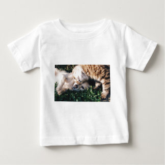 Dog Loves Kitty Baby T-Shirt