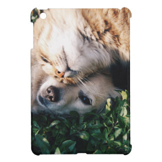 Dog Loves Kitty iPad Mini Cover