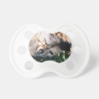 Dog Loves Kitty Pacifier