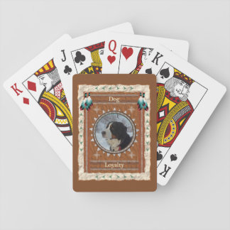 Dog  -Loyalty- Classic Playing Cards