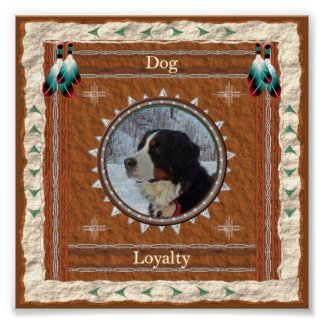 Dog  -Loyalty- Poster Print