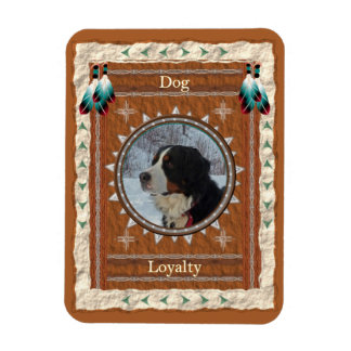 Dog  -Loyalty- Vinyl Flexi Magnet