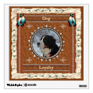 Dog  -Loyalty- Wall Decal