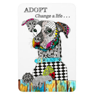 "Dog Magnet 4""x6"" (You can Customize)"